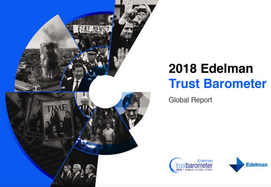 Resultado de imagen de edelman global trust